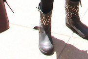 Bella Thorne Studded Boots
