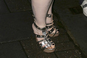 Beth Ditto Gladiator sandals