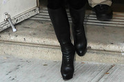 Bethenny Frankel Knee High Boots