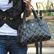 Bethenny Frankel Quilted Leather