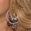 Beyonce Knowles Jewelry - Diamond Hoops
