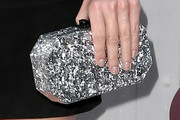 Jaime King Metallic Clutch