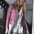 Blake Lively Clothes - Leather Jacket