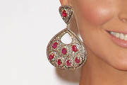 Blanca Soto Gemstone Chandelier Earrings