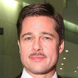 Brad Pitt Short Side Part
