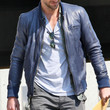 Bradley Cooper Clothes - Leather Jacket