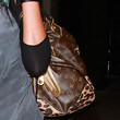 Brandy Leather Shoulder Bag