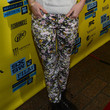 Brie Larson Clothes - Print Pants