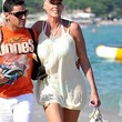 Brigitte Nielsen Clothes - Cover-up