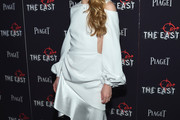 Brit Marling Cutout Dress