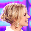 Britney Spears Hair - Messy Updo
