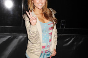 Brittney Palmer Zip-up Jacket