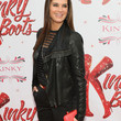 Brooke Shields Clothes - Leather Jacket