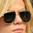 Brooklyn Decker Aviator Sunglasses