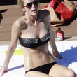 Brooklyn Decker Clothes - Bandeau Bikini