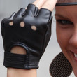 Brooklyn Decker Fingerless Gloves