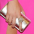 Brooklyn Decker Metallic Clutch