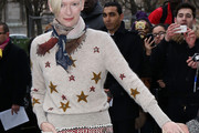 Tilda Swinton Crewneck Sweater
