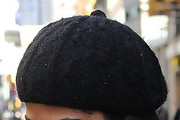 Camila Alves Wool Beret