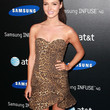 Camilla Luddington Strapless Dress