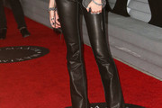 Candice Swanepoel Leather Pants