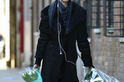 Candice Swanepoel Wool Coat