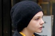 Carey Mulligan Cable Beanie
