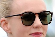 Carey Mulligan Classic Sunglasses