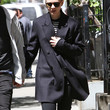Carey Mulligan Clothes - Wool Coat