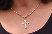 Catherine Zeta Jones Cross Pendant