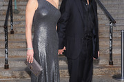 Catherine Zeta Jones One Shoulder Dress