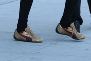 Catherine Zeta Jones Running Shoes