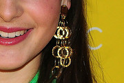 Celine Buckens Gold Chandelier Earrings