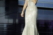 Celine Dion Evening Dress