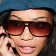 Chanel Iman Rectangular Sunglasses