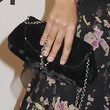 Chanel Iman Satin Clutch