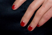 Charlotte Dellal Red Nail Polish