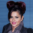 Cheryl Cole Hair - Twisted Bun