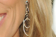 Cheryl Hines Dangling Diamond Earrings