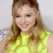 Chloe Grace Moretz Hair - Half Up Half Down