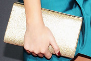 Chrissy Teigen Leather Clutch