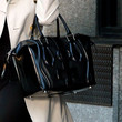 Christie Brinkley Patent Leather Tote