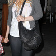 Christina Aguilera Leather Shoulder Bag