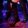 Christina Aguilera Wedge Boots