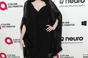 Christina Hendricks Little Black Dress