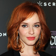 Christina Hendricks Hair - Medium Wavy Cut