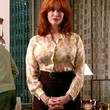 Christina Hendricks Clothes - Print Blouse