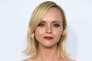 Christina Ricci Shoulder Length Hairstyles