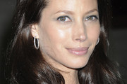 Christy Turlington Sterling Hoops