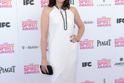 Clea DuVall Halter Dress